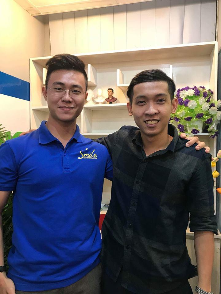 Nguyễn Tôn Quốc Tín và Phạm Lý Minh Khoa
