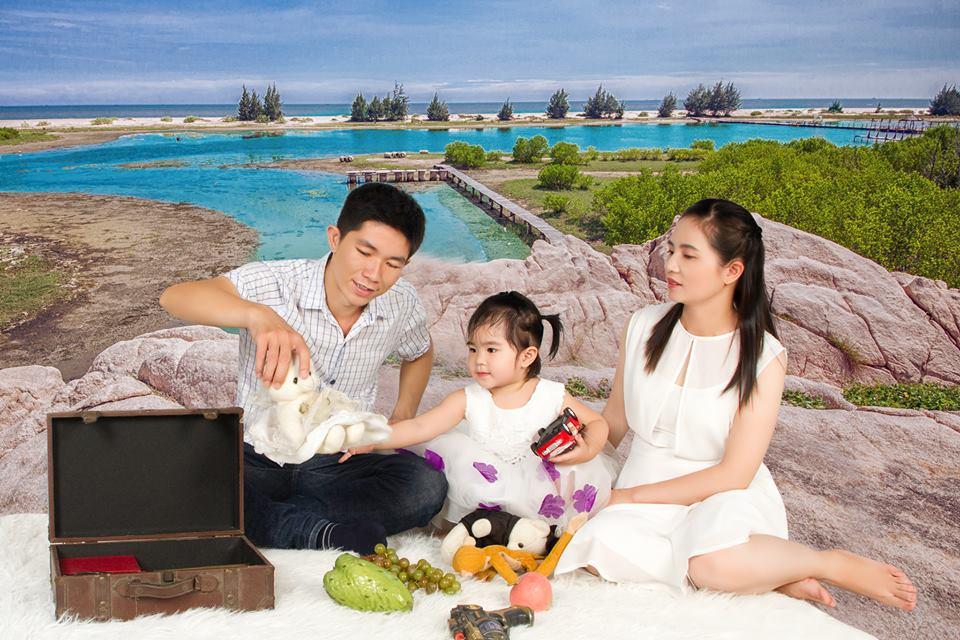 Chị Thái Thị Thọ - Chủ sáng lập yến sào MISAKO cùng gia đình