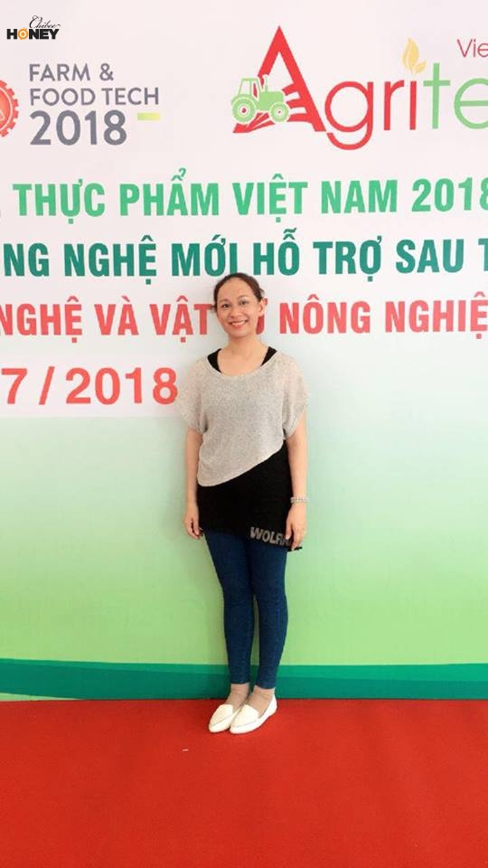 Chị Huỳnh Thị Bích Ngân
