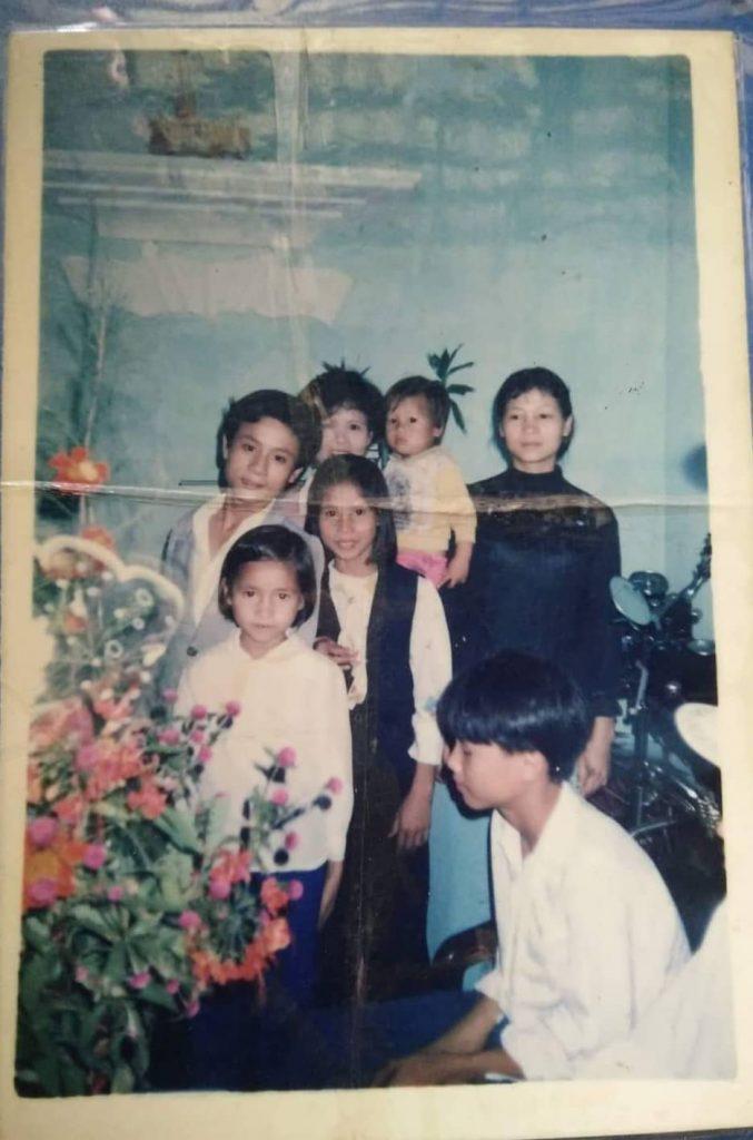 Gia đình anh Nguyễn Vũ Hoàng
