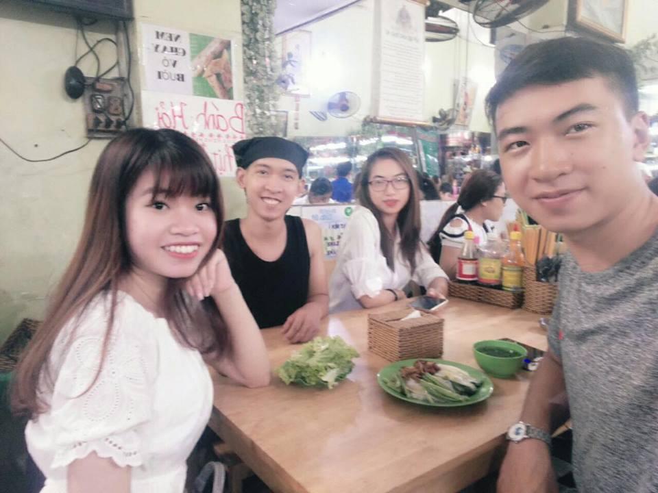 Nguyễn Tôn Quốc Tín, Nguyễn Văn Thuận, Nguyễn Thị Thu Thảo, Nguyễn Thị Kiều Oanh