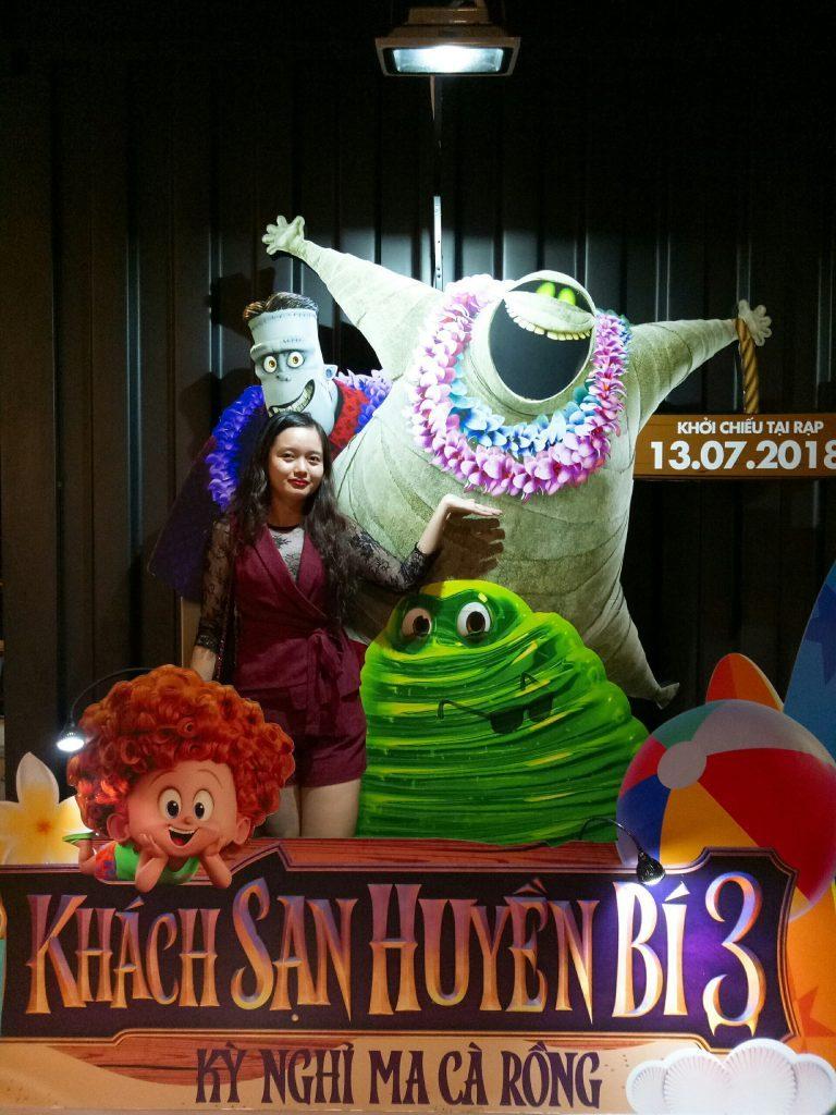 Chị Hoàng Thị Thanh Ngân