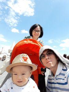 Anh Nguyễn Ngọc Ưng cùng gia đình đi du lịch Châu Âu