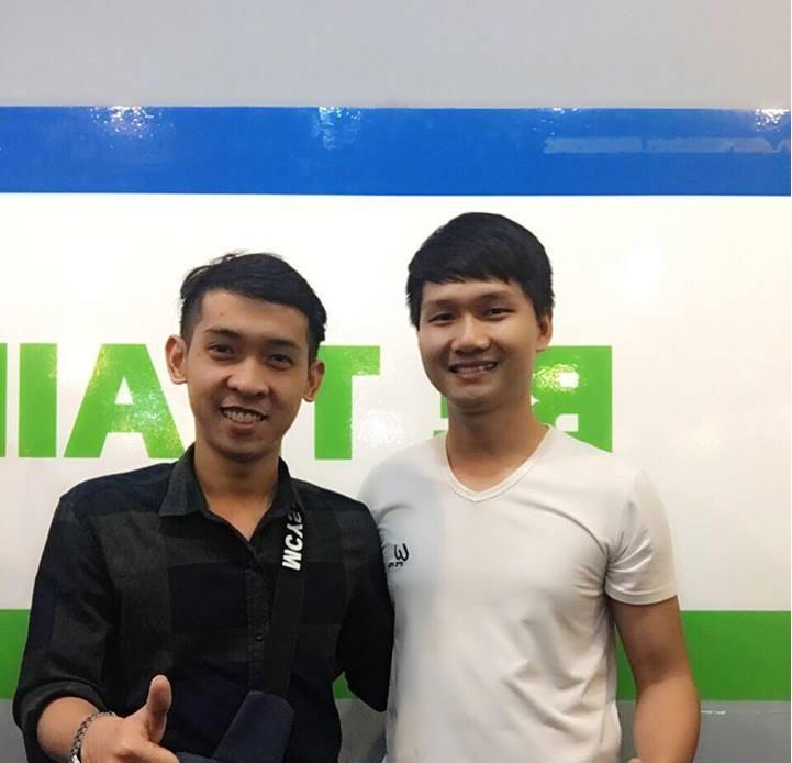 Anh Huỳnh Văn Nhi và Nguyễn Tôn Quốc Tín