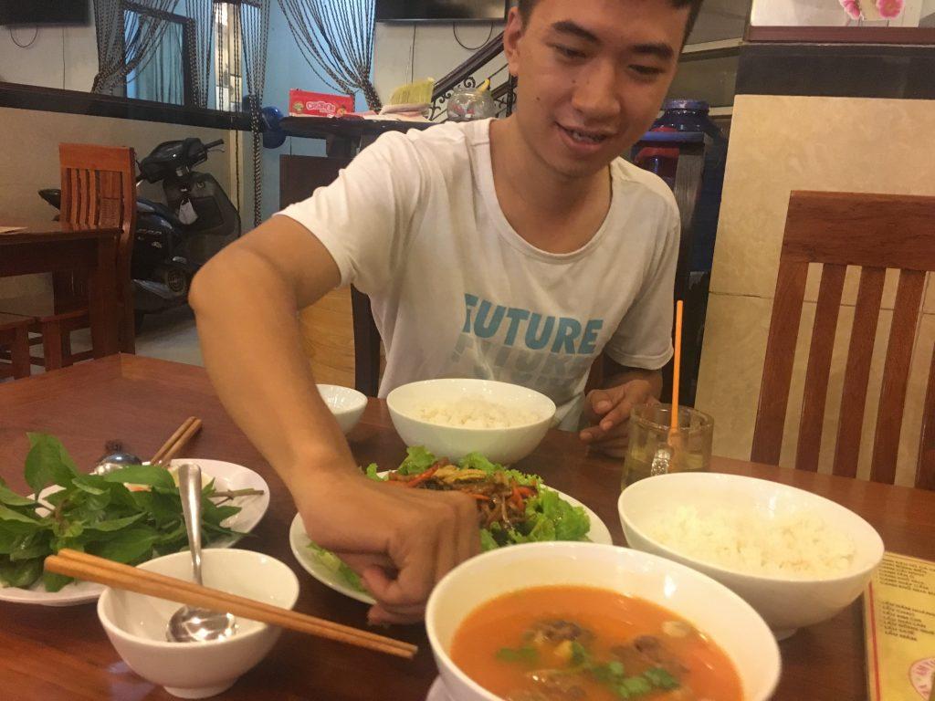 Món ăn tại quán chay NHƯ TÂM