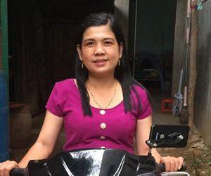 Mẹ của Nguyễn Tôn Quốc Tín