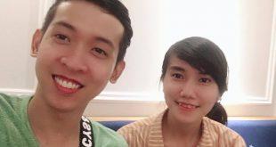 Chị Trần Thị Mỹ Nhiên và Nguyễn Tôn Quốc Tín