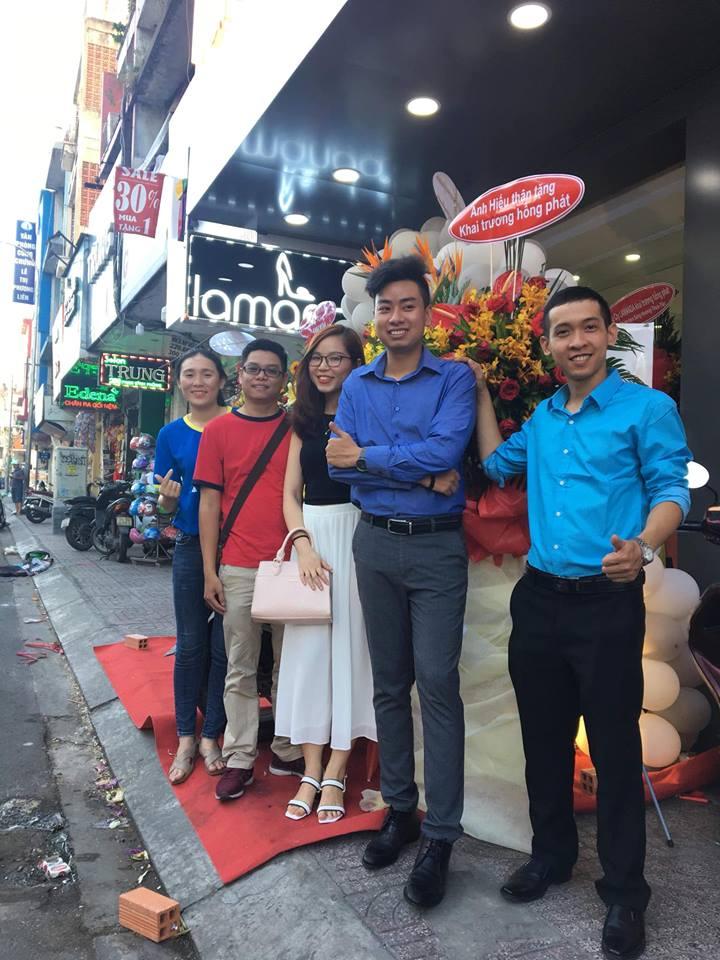 Nguyễn Tôn Quốc Tín tham dự lễ khai trương ra mắt thương hiệu giày cao gót LAMANDA