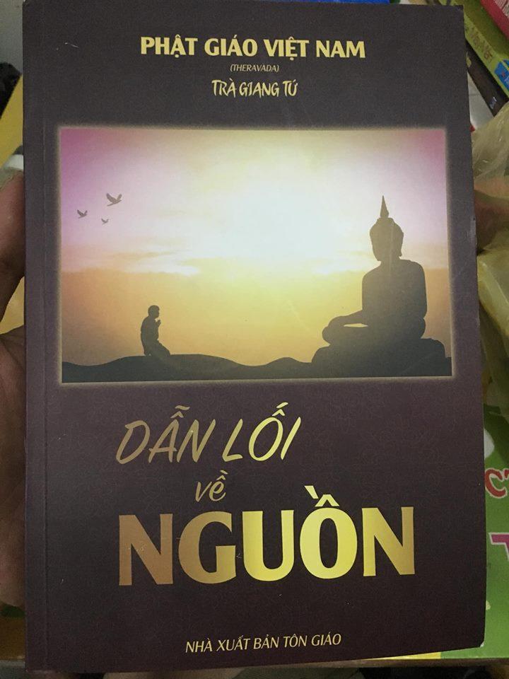 sách DẪN LỐI VỀ NGUỒN do bạn Phạm Lý Minh Khoa tặng!