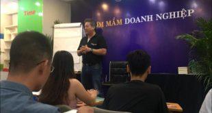 Anh Nguyễn Hải Nam, chủ tịch hiệp hội doanh nhân người Việt tại Pháp.