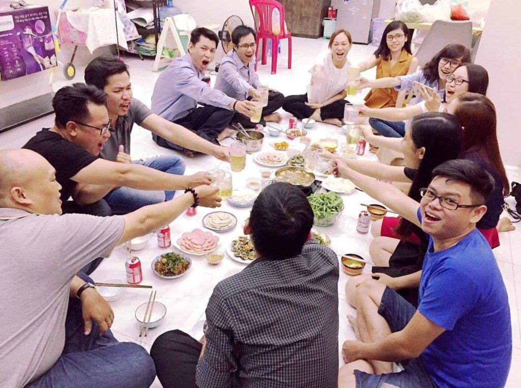 Tất niên nhóm doanh nhân trẻ CAS