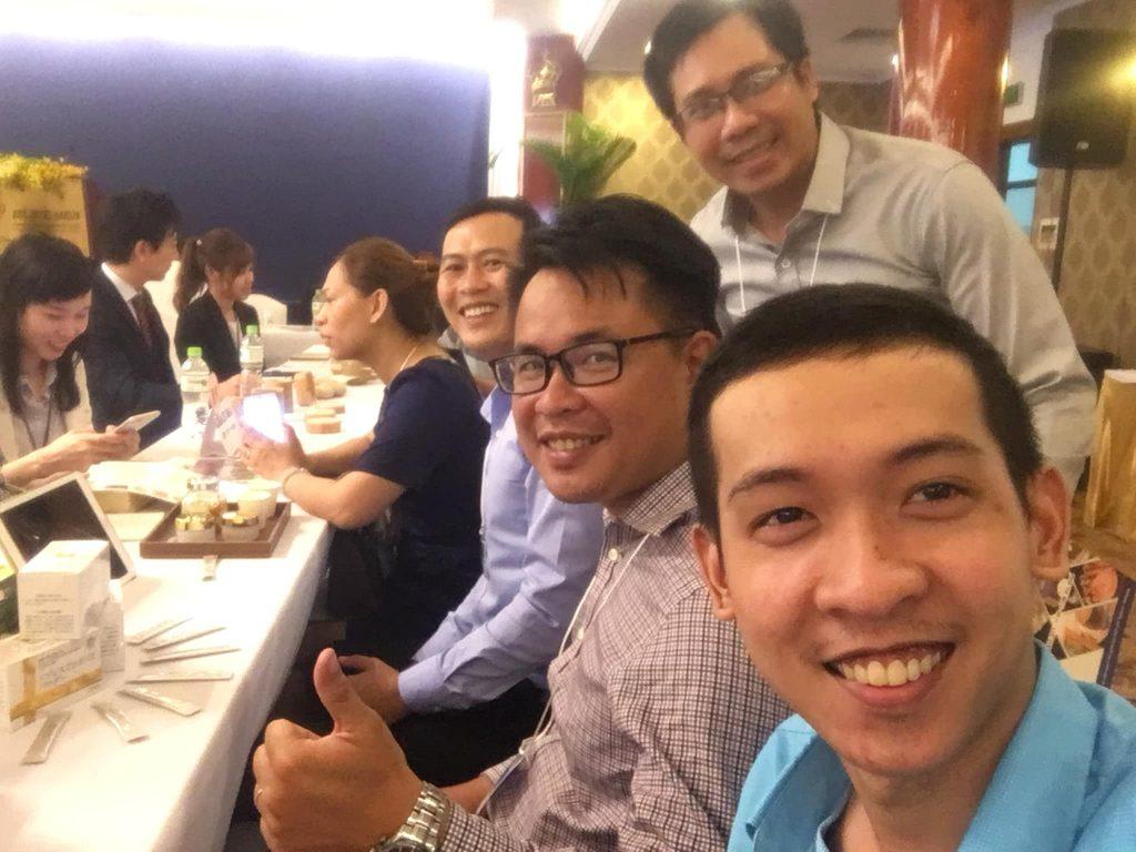 Nguyễn Tôn Quốc Tín tại hội đàm thương mại Việt-Nhật
