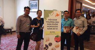 Nguyễn Tôn Quốc Tín và các anh chị doanh nhân tham dự hội đàm thương mại Nhật Bản