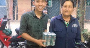 Nguyễn Tôn Quốc Tín và Cô Lao Công ở Gò Vấp.