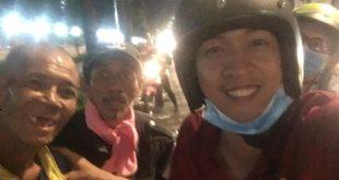 Nguyễn Tôn Quốc Tín cùng người vô gia cư Tp.HCM