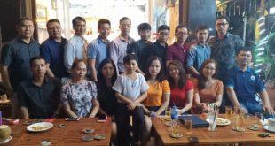 Buổi giao lưu tại hội quán liên kết doanh nghiệp Việt VECIC.