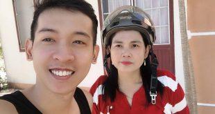 Nguyễn Tôn Quốc Tín cùng Mẹ