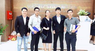 Nguyễn Tôn Quốc Tín cùng các doanh nhân ở cục xúc tiến thương mại TP.HCM