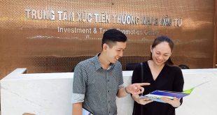 Nguyễn Tôn Quốc Tín tại trung tâm xúc tiến thương mại và đầu tư Tp. HCM