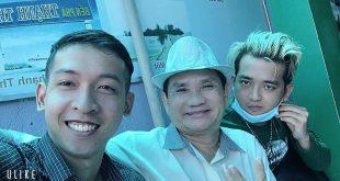 TS Nguyễn Hữu Nhơn cùng với Nguyễn Tôn Quốc Tín và ca sĩ Thiên Phú