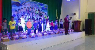 MC Lê Đức trong chương trình thiện nguyện chia sẻ yêu thương lần 5 tại An Giang