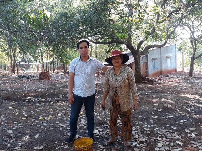 Anh Nguyễn Hoàng Lộc và Mẹ