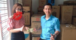Nguyễn Tôn Quốc Tín nhận quỹ LÒNG từ bạn Phan Thị Thùy Trang