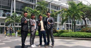 Nguyễn Tôn Quốc Tín và bằng hữu tại Singapore