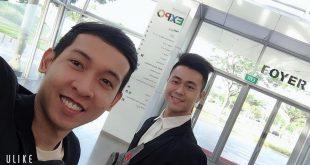 Nguyễn Tôn Quốc Tín và Phạm Lý Minh Khoa tại Singapore