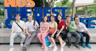 Nguyễn Tôn Quốc Tín trong chuyến du học cùng đoàn BE TRAINING tại Singapore