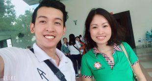 Nguyễn Tôn Quốc Tín và chị Phạm Thị Thu An