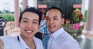 Nguyễn Tôn Quốc Tín và anh Lâm Hàn Phong