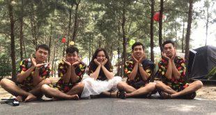 Nguyễn Tôn Quốc Tín cùng team loa kéo Tâm Việt
