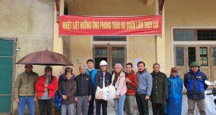 Hỗ trợ vôi cải tạo đất cho bà con xã Triệu Nguyên, tỉnh Quảng Trị